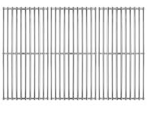 """Hongso 16 7/8"""" Stainless Steel Cooking Grill Grates Replacement for Charbroil 463420509 463420508 463436214 463436215 463440109, g432-4300-01 Master Chef 85-3100-2 85-3101-0 Thermos 461442114 SCH763"""