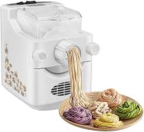 Electric Pasta and Ramen Noodle Maker Machine, Automatic Noodle Maker Machine with 9 Multi-functional Noodle and Dumpling Molds, for Spaghetti, Macaroni, or Dumpling Wrappers(US STOCK)