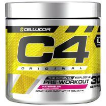 C4 Original Pre Workout Powder Watermelon| Vitamin C for Immune Support | Sugar Free Preworkout Energy for Men & Women | 150mg Caffeine + Beta Alanine + Creatine | 30 Servings