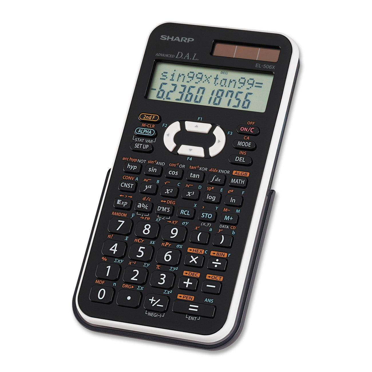 Sharp EL-506XBWH Engineering/Scientific Calculator