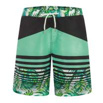 ZHPUAT Men's Swim Trunks Beach Board Shorts Quick Dry Bathing Suits Holiday Shorts