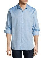 Robert Graham Men's Sweet Lips Long Sleeve Trim Fit Shirt