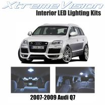 XtremeVision LED for Audi Q7 2007-2009 (16 Pieces) Cool White Premium Interior LED Kit Package + Installation Tool