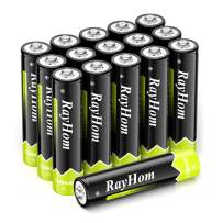 RayHom AAA Rechargeable Batteries 1100mAh Ni-MH Battery (16 Pack)