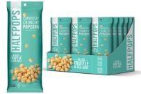Halfpops Popcorn, Black Truffle & Sea Salt, 15 Count (Pack of 15)