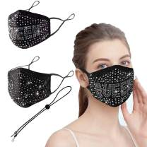 VWMYQ Stylish Elements 2 Pack Washable and Reusable Face Masks for Adult