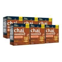 Tea India Chai Moments Instant Cinnamon Chai Tea Latte Mix, 7.7 oz, Pack of 6