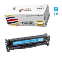 Global Cartridges Premium Quality Remanufactured Cyan Cartridge Replacement for HP 305A / CE411A (Cyan, 1-Pack)