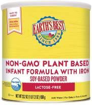 Earth's Best Non-GMO Soy Plant Based Infant Powder Formula with Iron, Omega-3 DHA & 6 ARA, 23.2 oz.