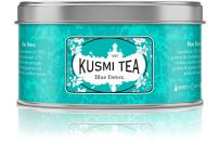 Kusmi Tea - Blue Detox - A Blend of Green Tea, Mate, Rooibos & Pineapple - 4.4oz of All Natural, Sugar Free, Preservative Free, Loose Leaf Green Tea Blend in Eco-Friendly Metal TIn (50 Servings)