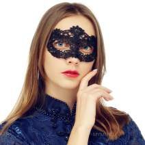 Masquerade Mask for Women Venetian Lace Eye Mask For Party Prom Ball Costume Mardi Gras