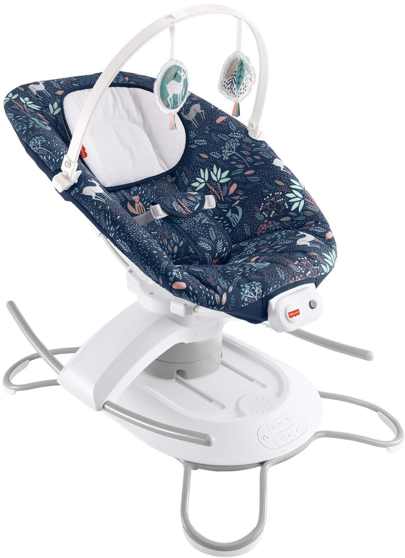 Fisher-Price 2-in-1 Deluxe Soothe 'n Play Glider, Moonlight Forest