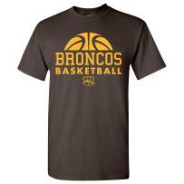 NCAA Basketball Hype Logo, Team Color T Shirt, College, University
