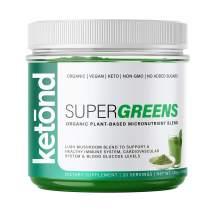Ketond Super Greens — Organic Essential Micronutrients - (20 Servings)
