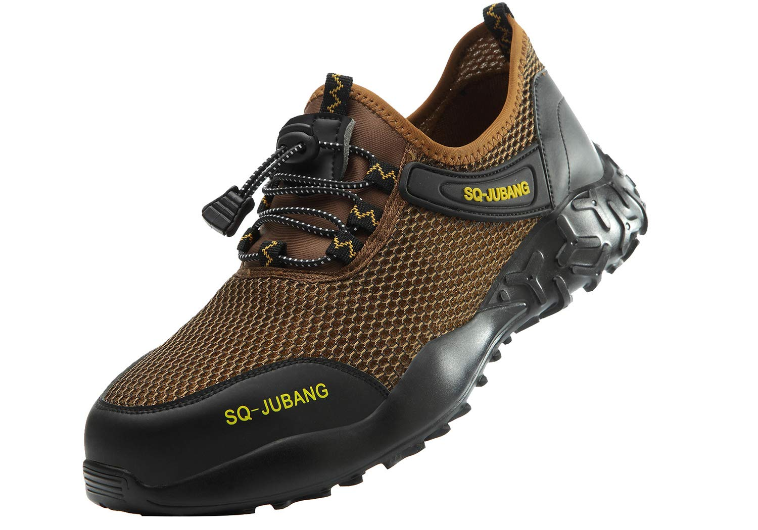 SUADEX Indestructible Steel Toe Shoes for Men Women Lightweight Breathable Work Safety Shoes Construction Sneakers for Trecking Hiking