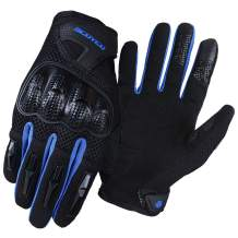 SCOYCO Touch Screen Gloves Full Finger Breathable ATV MTB Racing Cycling Motorbike Man's GlovesMC58-2