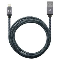 Cellet 8 Pin Lightning to USB Charging and Data Sync Cable 4Ft. Compatible to iPhone 11/ Pro XS/Max XR X 8/Plus 7/Plus 6S Ipad Pro 12.9-inch (1st 2ND Generation.) Pro 10.5-Inch Pro 9.7-Inch– Black