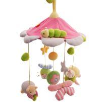 SHILOH Baby Crib Decoration Lullabies Plush Musical Mobile (Princess)