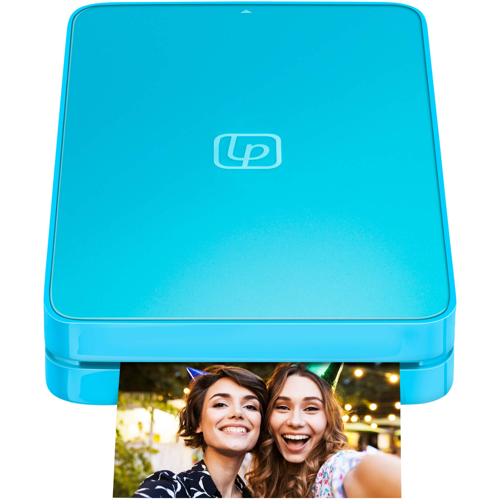 Lifeprint 2x3 Portable Photo and Video Printer for iPhone and Android. Make Your Photos Come to Life w/Augmented Reality - Blue
