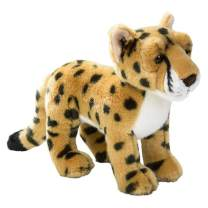 Wildlife Tree Standing 12 Inch Stuffed Cheetah Plush Floppy Animal Kingdom Collection