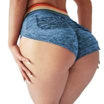 Scrunch Booty Shorts Women Sexy High Waist Butt Lift Hot Pant Lounge Lingerie
