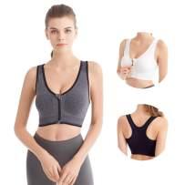 HIVOF Women Sports Bras-Workout Gym Activewear Bra