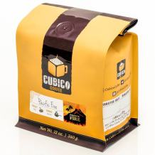 Pacific Fire - Ground Coffee - Freshly Roasted Coffee - Cubico Coffee - 12 Ounce (Blend of Indonesian Coffees)