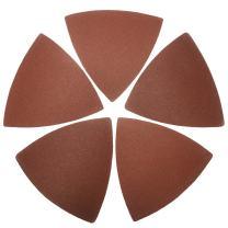 XXGO 60 Pcs 240 Grits 3-1/8 Inch 80mm Triangular Oscillating Tool Sanding Paper for Wood Sanding XG8020240