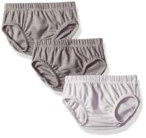 Hanes Ultimate Baby Flexy 3 Pack Diaper Covers, Grey, 6-12 Months