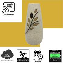 Discover IT | Wi-Fi Hidden Camera Spy Cam Home Surveillance Nanny Cam Air Freshener with Cloud Video Recording, Battery Operated