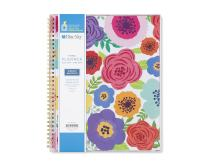 """Blue Sky 2018-2019 Academic Year Weekly & Monthly Planner, Flexible Cover, Twin-Wire Binding, 8.5"""" x 11"""", Mahalo"""