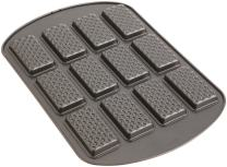 Wilton Nonstick 12-Cavity Rectangle Ice Cream Sandwich Pan