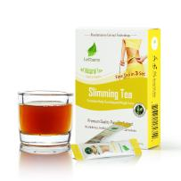 Oolong Slimming Instant Tea on the Go LeCharm 100% Natural Tea Extract, Unsweetened Drink Instant Crystallized Tea Powder for Pure Water, Iced Tea and Hot Tea(10 Sachets)