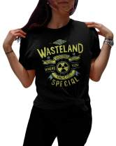 LeRage Come to Wasteland Shirt Nuclear Post Apocolyptic Gamer Gift Women's