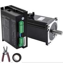 Mophorn Nema34 8.5Nm Stepper Servo Motor 2 Phase Hybrid Driver CNC Kit