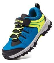 BMCiTYBM Toddler Sneakers Boys Kids Waterproof Hiking Tennis Athletic Running Shoes Outdoor