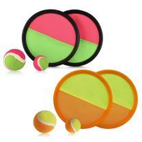 ABCO TECH Paddle Toss - Colorful Set