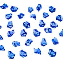 Super Z Outlet Acrylic Color Ice Rock Crystals Treasure Gems for Table Scatters, Vase Fillers, Event, Wedding, Arts & Crafts, Birthday Decoration Favor (190 Pieces) (Royal Blue)