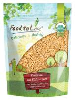 Organic Cracked Freekeh, 3 Pounds — Whole Grain, Non-GMO, Vegan, Roasted Green Wheat, Healthy Ancient Supergrain Farik, Rich in Protein and Dietary Fiber, Bulk Frikeh, Product of the USA