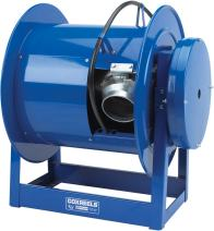"Coxreels 328-532 300 Series ""Exhaust"" Spring Driven Reel: 5"" I.D., 32' capacity, less hose"