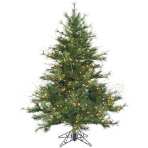 Vickerman 45' Mixed Country Pine Artificial Christmas Tree with 250 Clear lights