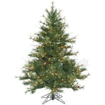 Vickerman Mixed Country Pine Christmas Tree, A801646LED