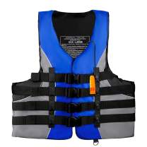 Leader Accessories Adult Universal Type III USCG Approved Life Jacket Vest