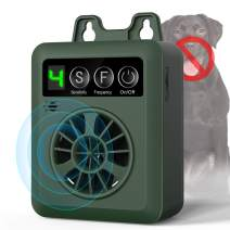 Anti Barking Control Device, Ultrasonic Dog Bark Deterrent, Mini Sonic Anti-bark Repellent 50 FT Range, Sonic Bark Deterrents Silencer Stop Barking Bark Stop Repeller (Battery not Included)