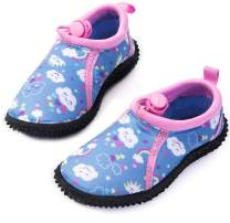 mysoft Kids Beach Water Shoes Non-Slip Quick Dry Barefoot Swim Shoes Aqua Socks for Boys and Girls Toddler Little Big Kid