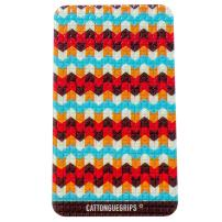 "CatTongue Grips: Phone Grip - Tom Cat: 2.5"" w x 5"" Tall - Non-Slip Design - Functional & Durable - Comfortable & Grips on Everything - Easy to Apply and Remove - No Added Bulk - Recyclable"