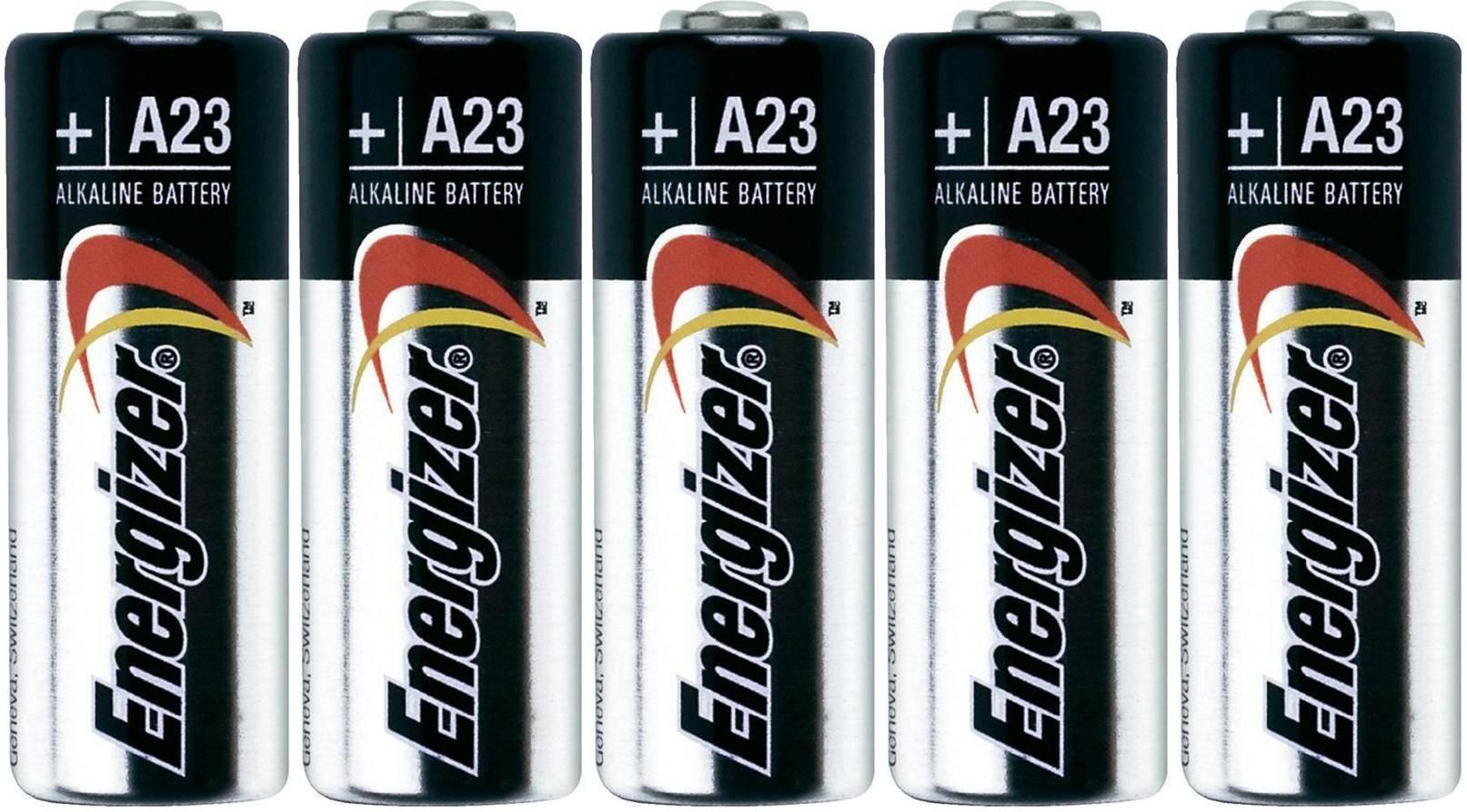 Energizer A23 12v Alkaline Batteries (Pack of 5)