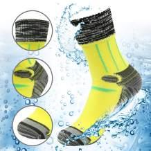 100% Waterproof Breathable Socks, [SGS Certified] RANDY SUN Unisex Sport Climbing Skiing Trekking Hiking Socks