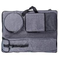 "Transon Artist Portfolio Backpack Bag Water Resistant Size 24.8""x 19"" Gray"