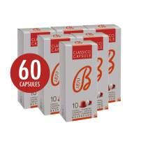 B1870 Barbera Nespresso Compatible Classic Coffee Capsules, 60 Pods